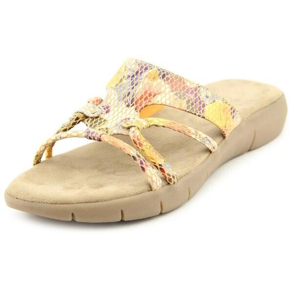 Shop Aerosoles Wip Away W Open Toe Canvas Slides Sandal