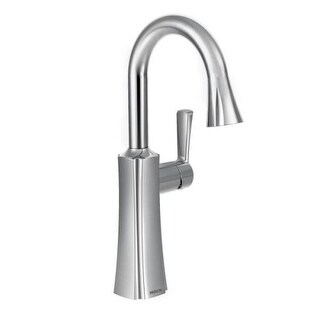 Moen S62608 Pull-down Spray High Arc Bar Faucet with Reflex Technology from the Etch Collection