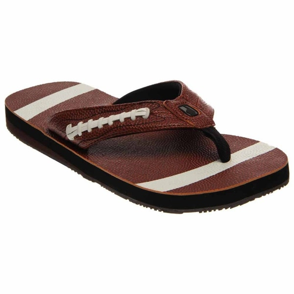 175c718fce2a Shop Fandalz Mens Football Casual Sandals - Free Shipping On Orders ...