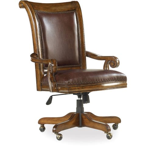 Hooker Furniture 5323-30220 Tynecastle Traditional Executive - Warm Chestnut