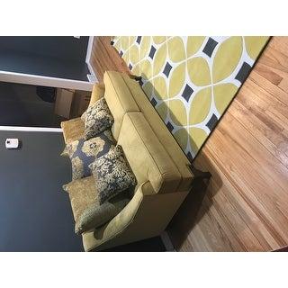 Furniture of America Visconti 2-piece Premium Velvet Sofa and Loveseat Set