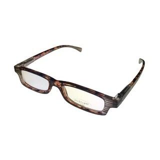 Jill Stuart Reading Womens Glasses JSR1 Demi Amber Plastic Rectangle 1.5 Power - Medium