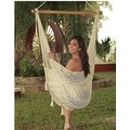 Sunnydaze Mayan Hammock Chair with Wood Spreader Bar - Thumbnail 3