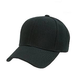 906bc1e70ab 10 Pack of Plain Polyester Unisex Baseball Caps - Adjustable Blank Hat with  Solid Color