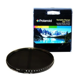 Polaroid Optics 43mm Variable Range Neutral Density ND Fader Lens Filter