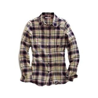 Tin Haul Western Shirt Women L/S Button Flap Multi - Multi-color