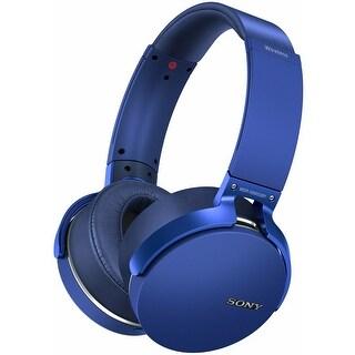 Sony XB950B1 EXTRA BASS Bluetooth Headphones (Blue)