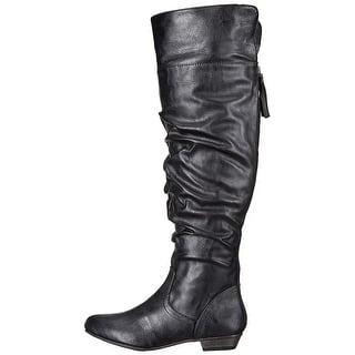 0e70129e857 Fergalicious Womens tootsie Suede Almond Toe Knee High Fashion Boots. 4.5  of 5 Review Stars. 2 · Quick View