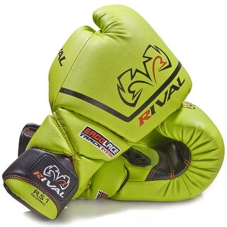 Rival Boxing RS1-Pro Sparring Gloves - 18 oz. - Lime