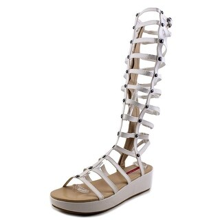 C Label Raya-3 Women Open Toe Synthetic White Gladiator Sandal