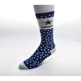 Dallas Cowboys Dot Band Socks