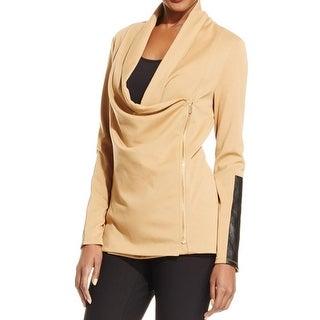 Grace Elements Womens Basic Jacket Heathered Long Sleeves