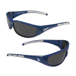 MLB Los Angeles Dodgers Wrap 3 Dot Sunglasses