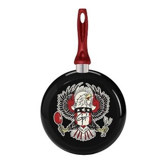 Guy Fieri 9.5 Inch Decorated Fry Pan with Eagle Design