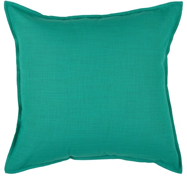 Rizzy Home Cotton Solid 20-inch Throw Pillow. Opens flyout.