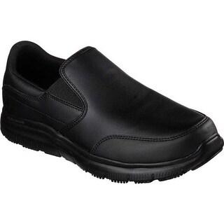 Skechers Men's Work Relaxed Fit Flex Advantage SR Bronwood Loafer Black