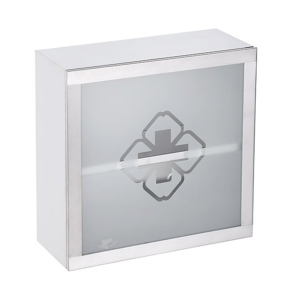Mini Stainless Steel Medicine Cabinet Wall Mount Storage | Renovator's Supply - N/A
