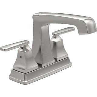 Delta 2564-TP-DST Ashlyn Centerset Bathroom Faucet with Pop-Up Drain Assembly - Includes Lifetime Warranty