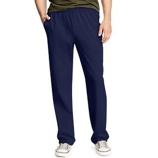 Hanes X-Temp® Men's Jersey Pocket Pant - Size - XL - Color - Navy