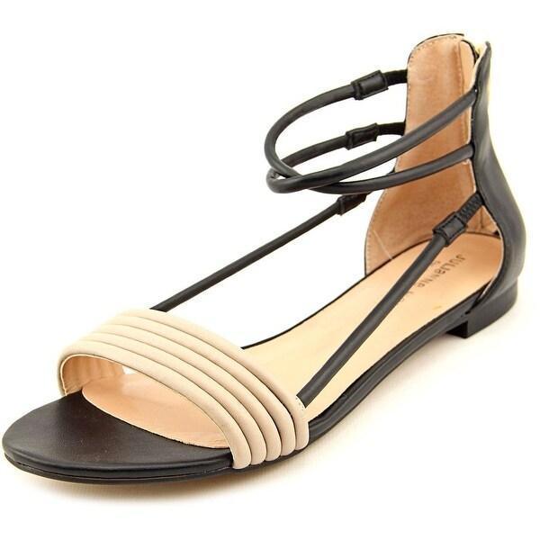Julianne Hough Olexa Open Toe Synthetic Gladiator Sandal