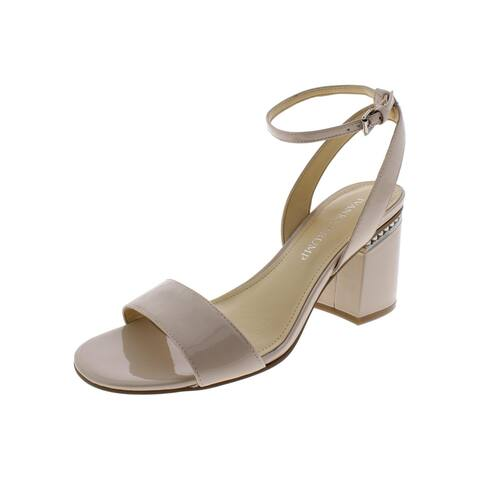 Ivanka Trump Womens Anina Dress Sandals Patent Leather Block Heel