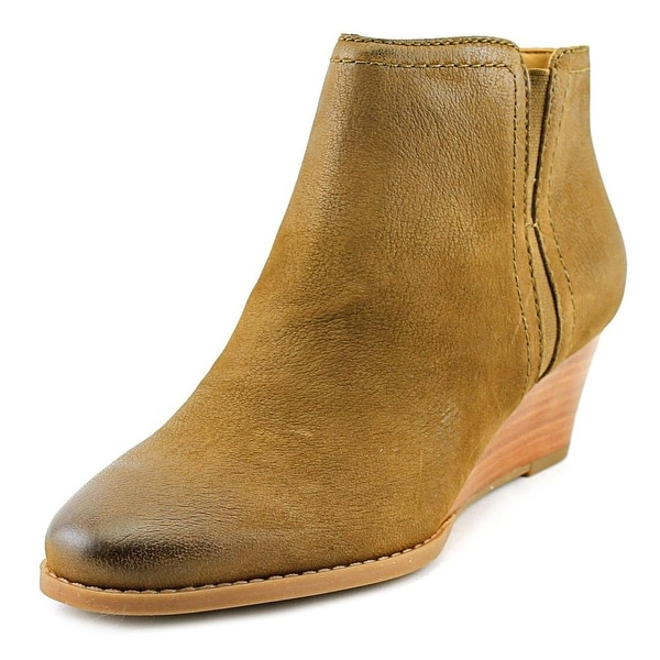 8ec343194d69 Shop Franco Sarto Wera Round Toe Leather Ankle Boot - Free Shipping ...