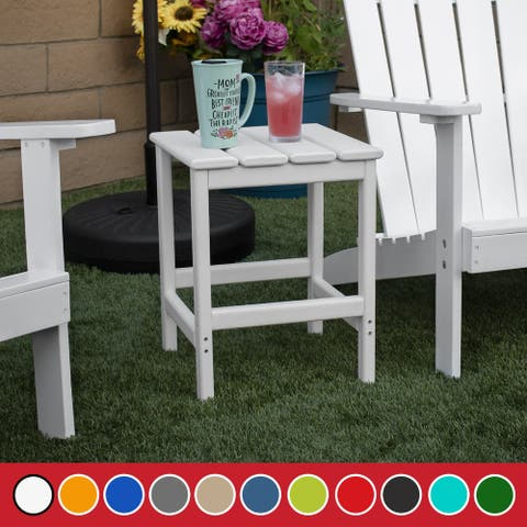 Laguna 18-inch Square Side Table (Variety)