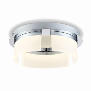 "Eurofase Lighting 31798 Bria Single Light 11"" Wide Integrated LED Flush Mount Ceiling Fixture"