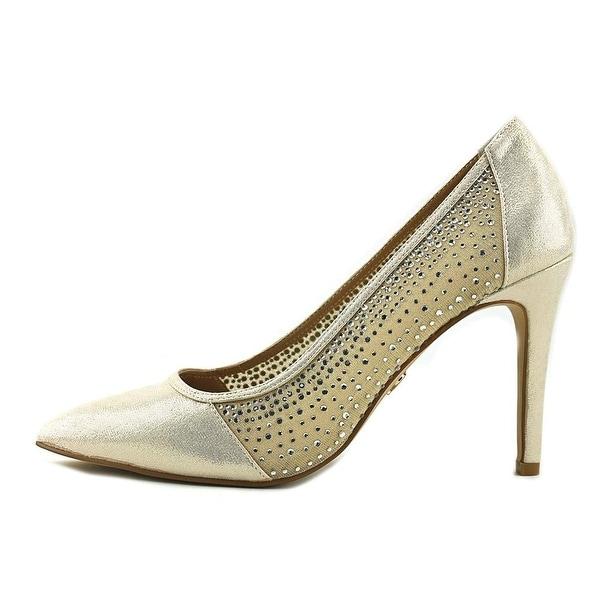 Thalia Sodi Womens Natalia Fabric Pointed Toe Classic Pumps