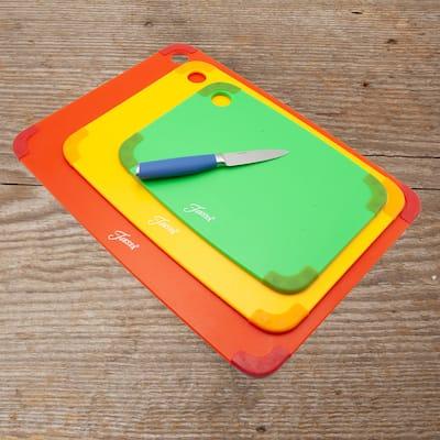 Fiesta 3 Piece Non-Slip Cutting Boards - 3 Piece