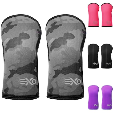 ExoSleeve 5mm Neoprene Compression Fit Knee Sleeves Supports