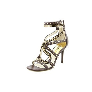 Michael Michael Kors Larissa Sandal Open Toe Leather Gladiator Sandal