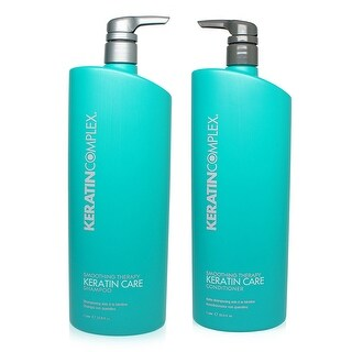Keratin Complex Care Shampoo & Conditioner 33.8oz Ea.