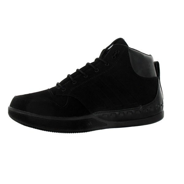 Adidas Lux Mid Basketball Shoes Mens Black - 9 d(m) us