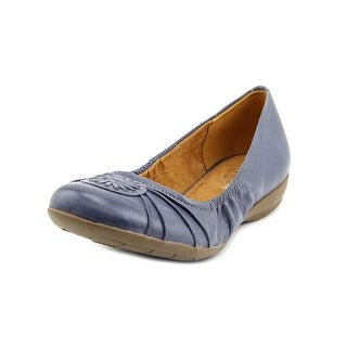 Naturalizer Ginger Round Toe Leather Flats