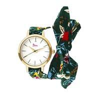 Boum Arc Women's Quartz Watch, Fabric Strap