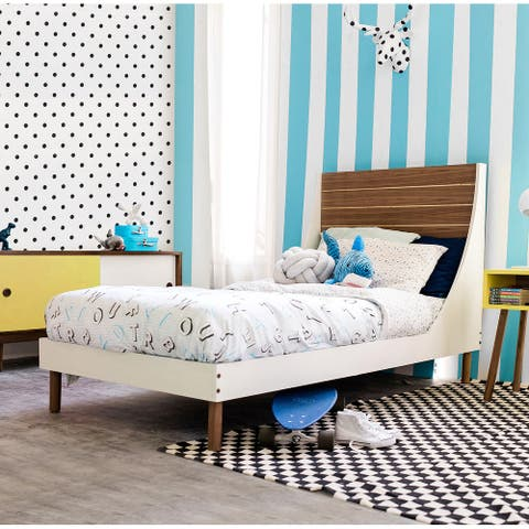 Taylor & Olive Gilia Wood Full Panel Bed