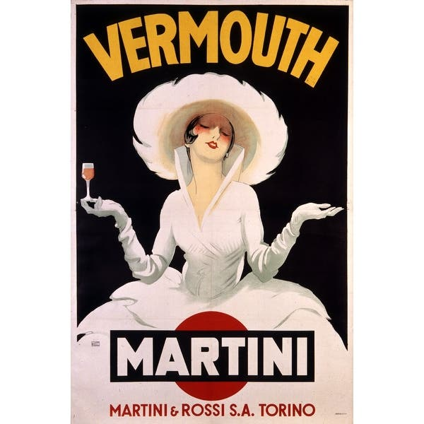 Shop Black Friday Deals On Vermouth Martini Artist Dudovich Austria C 1920 Vintage Poster Art Print Multiple Sizes Available Overstock 16013170