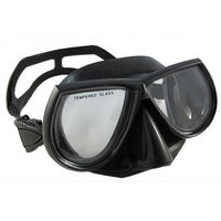 46f41a22513 Shop Palantic Spearfishing Brown Dive Mask Nearsighted Prescription ...
