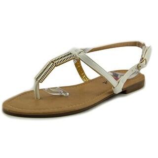 Dollymix Ella-90 Women Open Toe Synthetic Thong Sandal