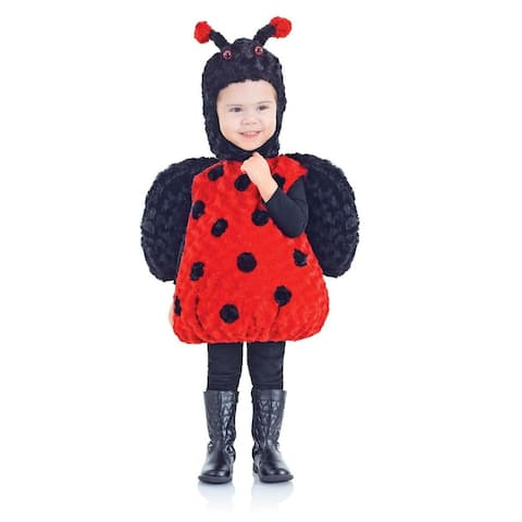 Belly Babies Lady Bug Costume Child Toddler - Red