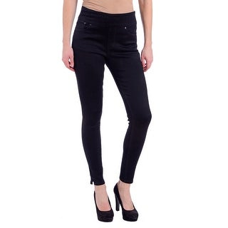 Lola Rachel-BLK, High Rise Pull On Ankle with 4-way stretch