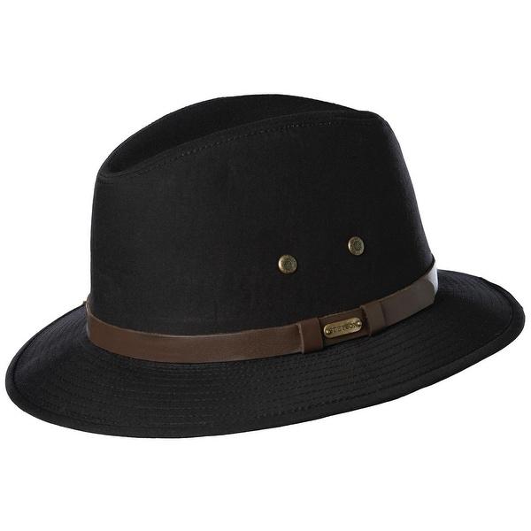 2f853bc2e9b805 Shop Stetson Men's Water Repellent Gable Safari Hat - Free Shipping ...