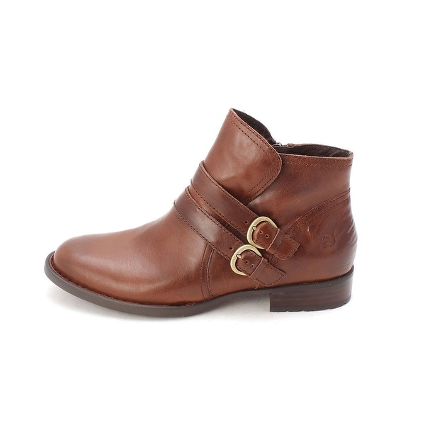 Born Womens Pirlo Leather Closed Toe Ankle Fashion Boots