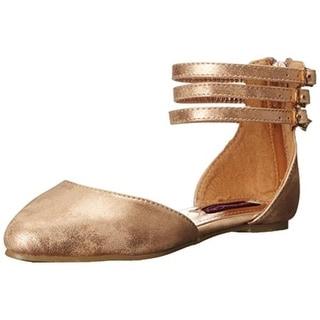 Kensie Girl Girls Metallic Dress Shoes