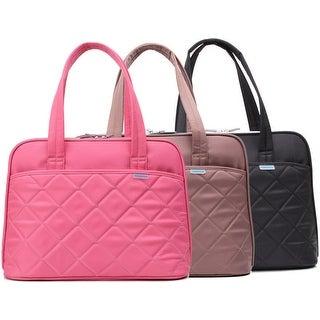 "Kingsons Ladies in Fashion Series 15.4"" Laptop Shoulder Bags (Pink)"