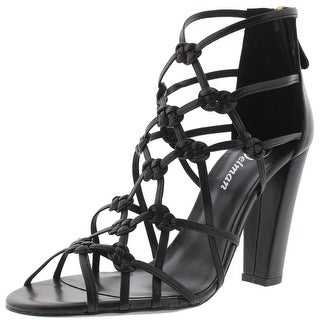 Delman Womens Scandl Dress Sandals Leather Cut-Out