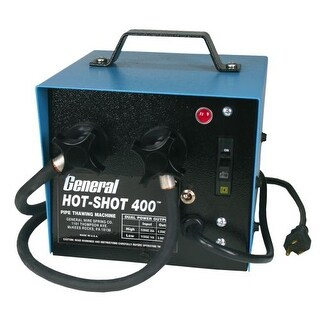 General Pipe Cleaners HS400 Hot-Shot? 300/400 Amp Pipe Thawing Machine with Two 20 Ft. #1 Cables and Clamps - US Only