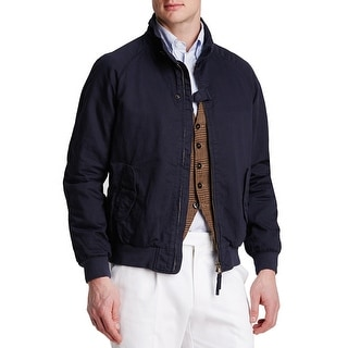 Man 1924 By Carlos Castillo Navy Blue Bomber Field Jacket X-Large
