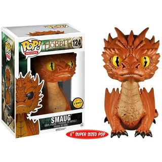 "The Hobbit 3 Funko POP 6"" Vinyl Figure: Smaug Yellow Eyes (Chase Variant) - multi"